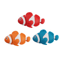 Cartoon Fish USB Flash Drive Pen Drive 64GB 32GB 16GB 8GB 4GB Memory Stick USB 2.0 U Disk External Storage(China (Mainland))