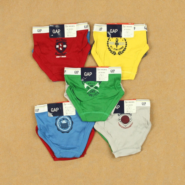 Male child baby 100% cotton briefs boxer shorts small 100% cotton panties child shorts