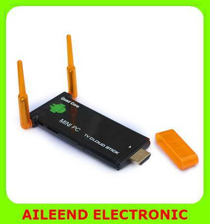 CX919 II Android 4.2 Quad Core 2G/8GB Bluetooth Dual External WiFi Antenna 1080P Android Mini PC TV Stick(China (Mainland))