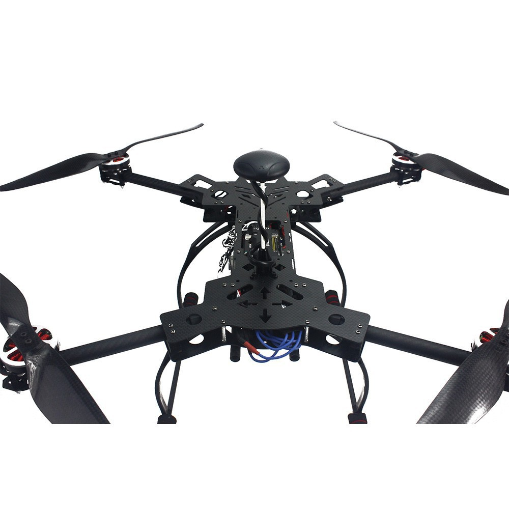 RTF GPS Drone NO Battery Charger HMF600 Carbon Fiber Foldable H Shaped Quadcopter APM2 8 with