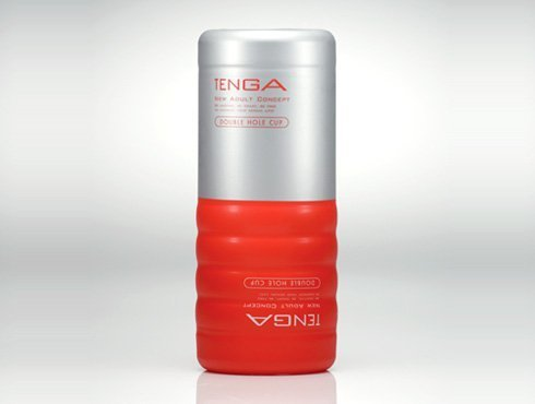 Fashion hotWholesale Tenga Toc-104 Double Hole Cup Masturbatory Cup with gifts of condoms