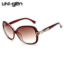 Fashion Crystal Stone Frame Sunglasses Women Brand Designer Vintage Sunglasses Big Frame Sun Glasses UV400 Sunglases ADJ1516(China (Mainland))