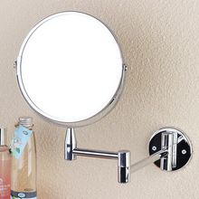 Wall Mirror Cosmetic Makeup Shaving Bathroom Double Faced Rotatalbe(China (Mainland))