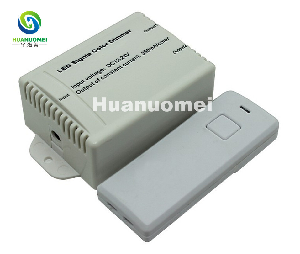 Wireless RF Audio constant voltage dimmer;LED Single Color Controller;DC5V/DC12~24V;Output current<350mA*2channels(China (Mainland))