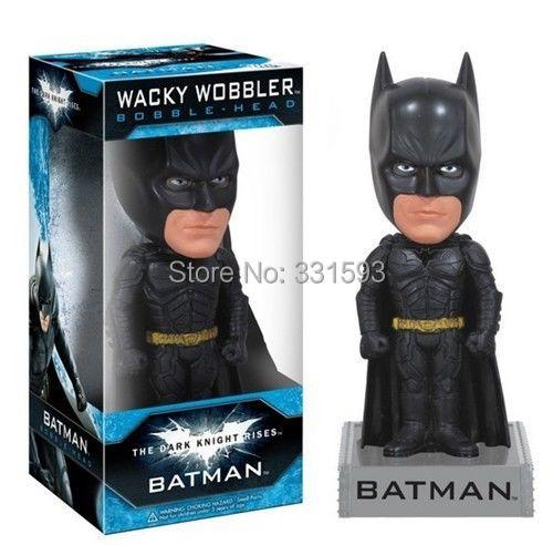 Free Shipping FUNKO Bobble Head Batman The Dark Knight Riss Wacky Wobbler PVC Action Figure Collection Toy Doll FKFG070<br><br>Aliexpress