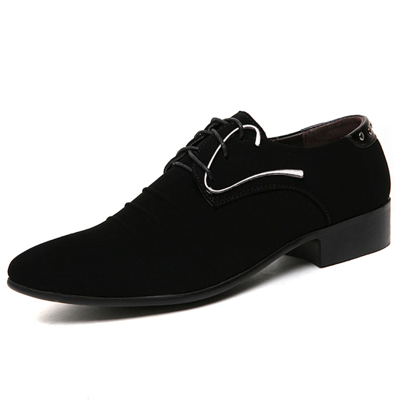 popular mens black suede dress shoesbuy cheap mens black