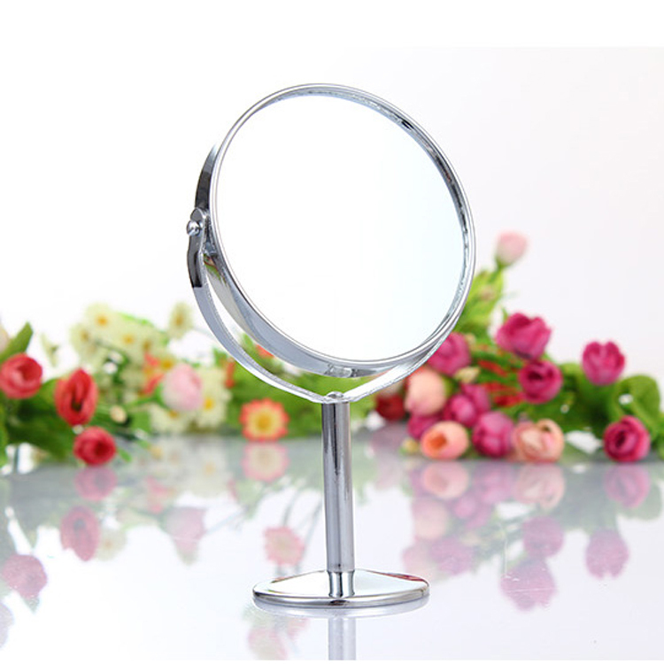 High Quality Cosmetic Mirror High-Grade Bathroom Lens Double-Sided Mirror Table Makeup Mirror Drop Shipping HB-0006(China (Mainland))