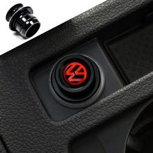 Black  Adornment Car Cigarette Lighter FIT MK6 Golf GTI Jetta POLO CC Tiguan R20 MK7 GOLF7(China (Mainland))
