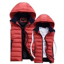 2014 New Casual Mens Cotton Vests Men s Vest Jacket Outerwear Slim Fit Outdoors Mens Vest
