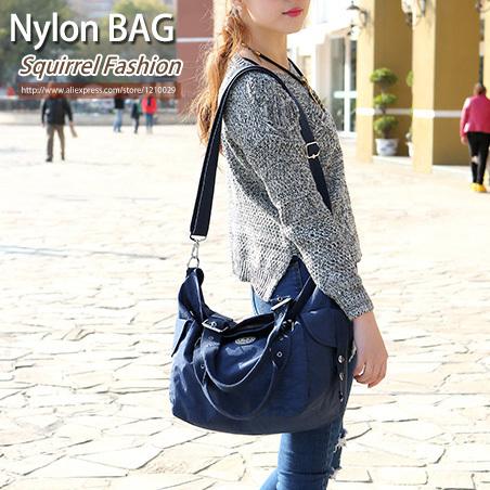 Squirrel fashion nylon waterproof Eurpoean style women shoulder bag temperament vogue hipster elegant bolsas casual ladys tote<br><br>Aliexpress