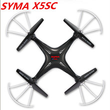 Syma x5sc X5SC-1 (Black White) 2.4G 4CH 6-Axis 2MP HD aerial RC Helicopter Quadcopter Toys Drone With Camera VS X5SW X5C x5c-1