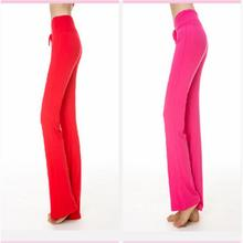 Women Pant Trousers Cotton Practise Pants Exercise Lounge Sports Long Pant free shipping