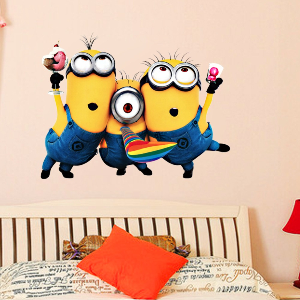 Minions Bedroom Wallpaper High Quality Minions Background Promotion Shop For High Quality