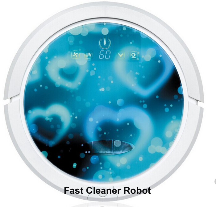 Free Shipping Top Grade Robot Vacuum Cleaner QQ6 with Water Tank,Wet And Dry Mop,Touch Screen,Schedule,UV Lamp,Auto Recharge(China (Mainland))