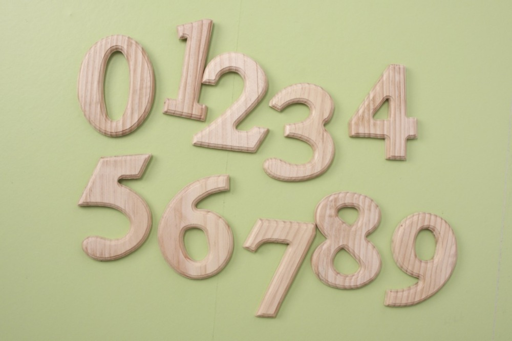 New creative home decoration decorative wooden digital