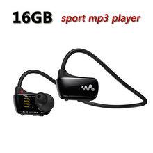 Free Shipping Sports mp3 player for sony Walkman NWZ-W273 16GB headset W273 Running mp3 music player earphone headphone(China (Mainland))