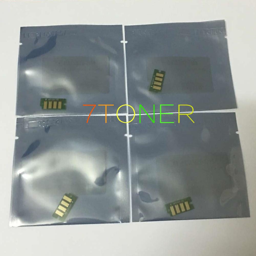 4 x Toner Reset Chip For DELL E525W 593-BBJU 593-BBJV 593-BBJW 593-BBJX Dell E525W Color Laser All-in-One Printer For Dell e525w(China (Mainland))