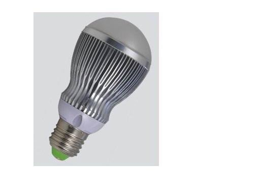 E27 base 5*1W led bulb;warm white;P/N:QP3W018