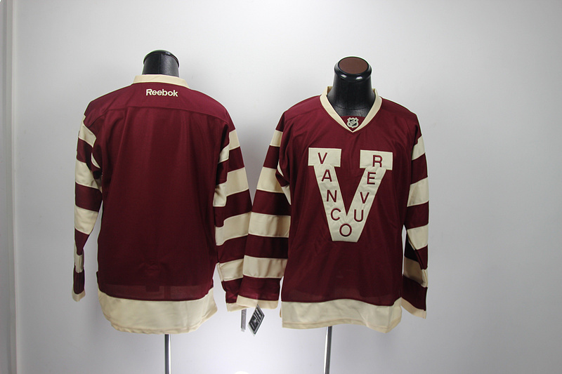 Discount Mens Vancouver Canucks Jersey Blank Red Hockey Jersey Accept Retail And Mixed Orders