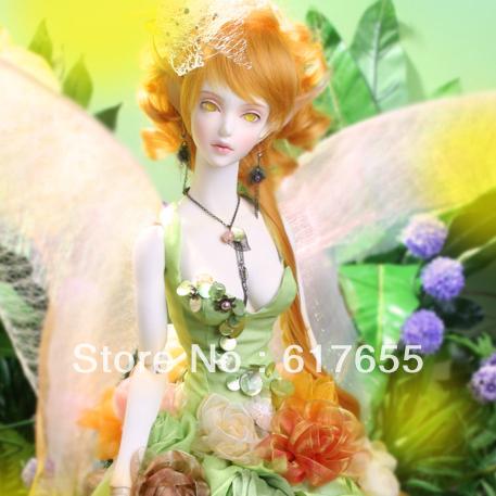 ,Gift giving(a pair eyes(radom),a magic cleaner),BJD Doll,soom Topaz-Honey Dew 1/3 - amber store