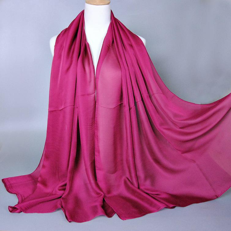 FREE SHIPPINGmuslim plain satin long hijab dubai luxury big gold head scarf arab islamic women grosgrain shawl 2016 fashion veil(China (Mainland))
