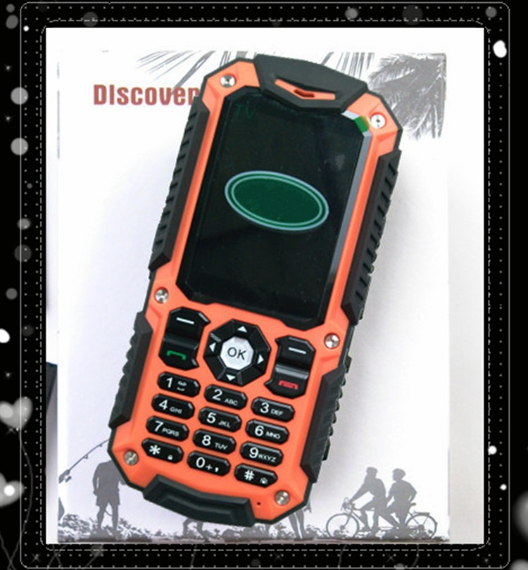 2016Outdoor Sport phone A11 mobile phone 2800mAh long standgby Unlock A11 Dustproof Shockproof Children cell phone 2 SIM card FM(China (Mainland))