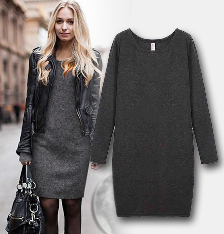 Long Sleeve Loose Clothing Pregnancy Cashmere Winter Dress Clothes for Pregnant Women Hoody maternity dresses 2colors XXL(China (Mainland))