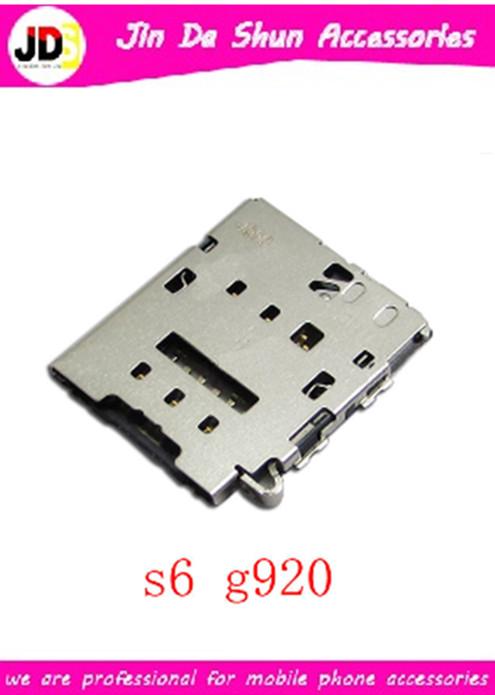DHL 200PCS/LOT For Samsung Galaxy S6 G9200 G920 G920F G920T G920N G920A G920P Sim Card Reader Holder Slot Tray Free Shipping