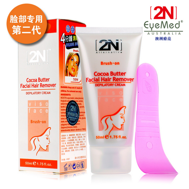 2 n facial hair removal cream permanently prevent allergy Special facial lip to lip hair <br><br>Aliexpress