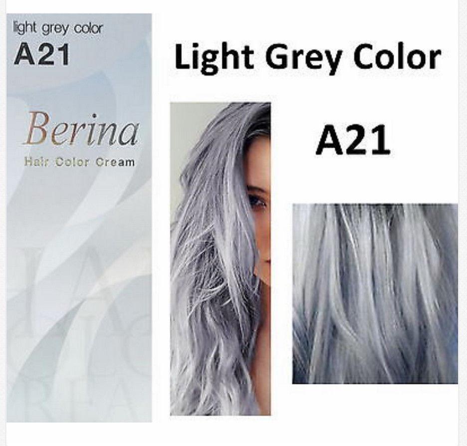 Палитра цветов краски для волос серый