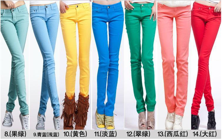 Colored Pants Women - Fat Pants