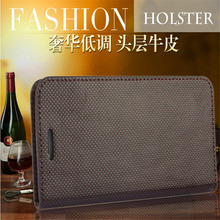 Stand Wallet Style Luxury Genuine Leather Flip Case For iPhone 6 Plus /6S Plus Plaid Leather Phone Cover Bag For iPhone 6 6S 5.5
