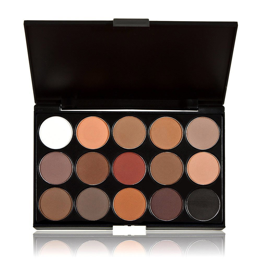 Beauty 15 Colors Women Cosmetic 2016 Brand Makeup Neutral Nudes Warm Eyeshadow Palette make up eye shadow cosmetics hot sale(China (Mainland))