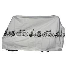 Neue Bike Motorrad Regen Staubschutz Wasserdichte Outdoor Moped-schutz Grau Für Fahrrad Radfahren kostenloser versand(China (Mainland))