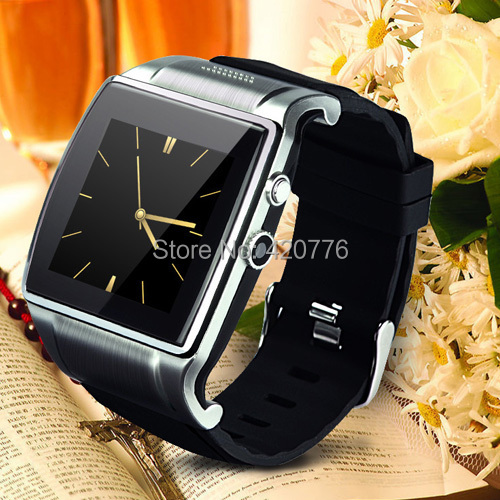 Luxury Bluetooth Smart Watch 1.54'' Hi smartWatch 2 for iPhone Android Smartphones Multi language with camera(China (Mainland))