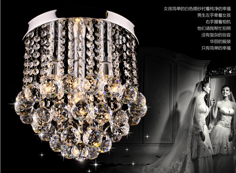 Modern Crystal Chandelier Lights 2015 Top For Bed Room Living Dining