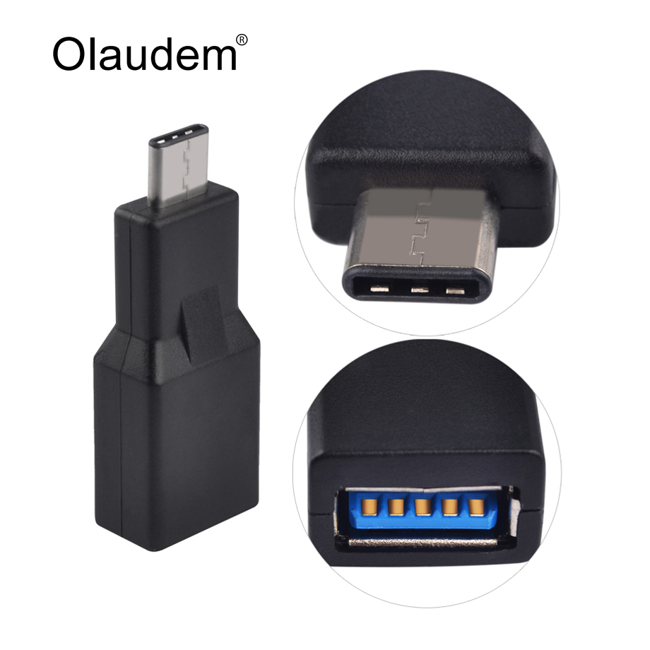 USB 3.1 Type C Male to USB 3.0 Female Converter Adapter with OTG Function For Macbook Nexus 5X 6P Lumia 950 950 XL ADT798(China (Mainland))