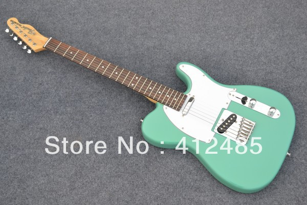 Free shipping HOT ! tele guitar High Quality green tele guitar Ameican standard telecaster electric Guitar in stock(China (Mainland))