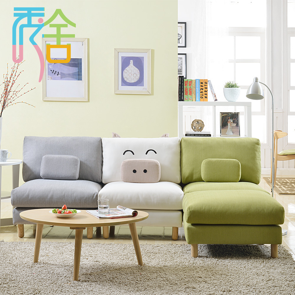 sofa small apartment living room couch creative piggy ikea furniture