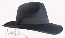 MJ Michael Jackson ultimate collection Black Fedora Hat Billie Jean (China (Mainland))
