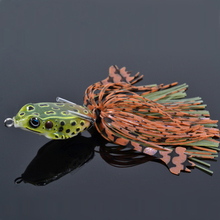 Buy  (3pcs/lot) Tsurinoya 4cm/7g Frog Fishing Lures Soft Frog Plastic Lure Bait Pesca Fishing Tackles Top Water Fishing Bait for $12.99 in AliExpress store