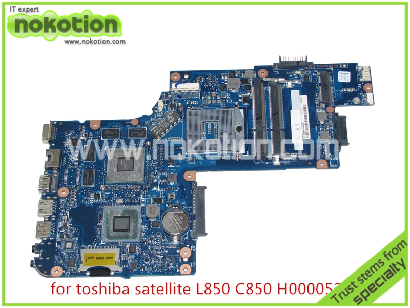 H000052560 Laptop Motherboard for toshiba Satellite L850 C850 Intel DDR3 HD4000+216-0810028 ATI Graphics Mainboard(China (Mainland))