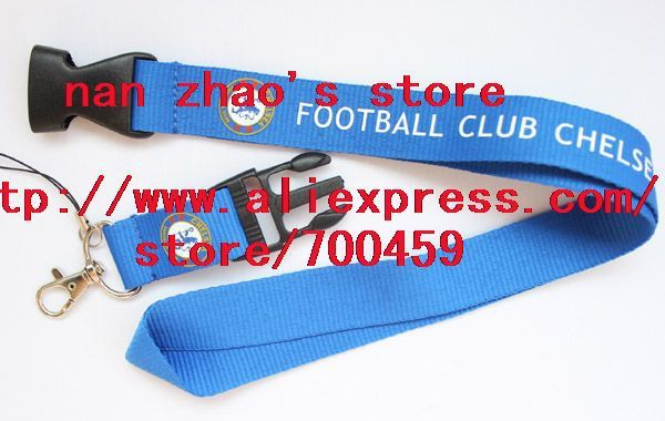 New Lot 120pcs FOOTBALL CLUB CHELSEA sport Lanyard for MP3/4 cell phone/ key /Neck Strap Lanyard WHOLESALE