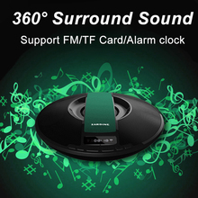 Free 16G TF Card, Sardine SDY-021 Portable Wireless Bluetooth Speaker 8W Stereo audio sound with microphone Broadcast Caller