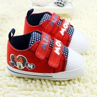 New Arrivals 2015 brown stitching printing baby shoes unisex toddler shoes children's pre walker new born shoes 2218