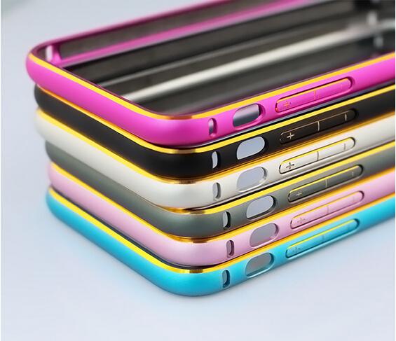 3super slim bumper frame metal Aluminum retail box Apple iPhone 6 4.7 inch - rafael wan's store