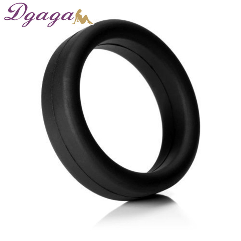 Penis Rings Silicone Men Crystal Delay Lock Sex Product Sleeve Cock Ring Extender Dildo Rings Penis Enlargement Products