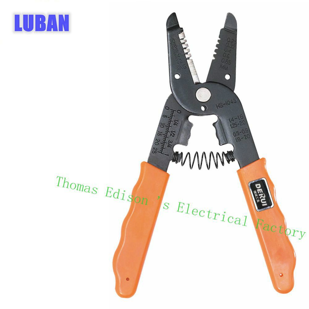 HS-1043 wire stripper Multi Function Cable wire Cutters Max 30MM2 Stripping wire 0.25-0.65mm2 cable cutter TOOL<br><br>Aliexpress