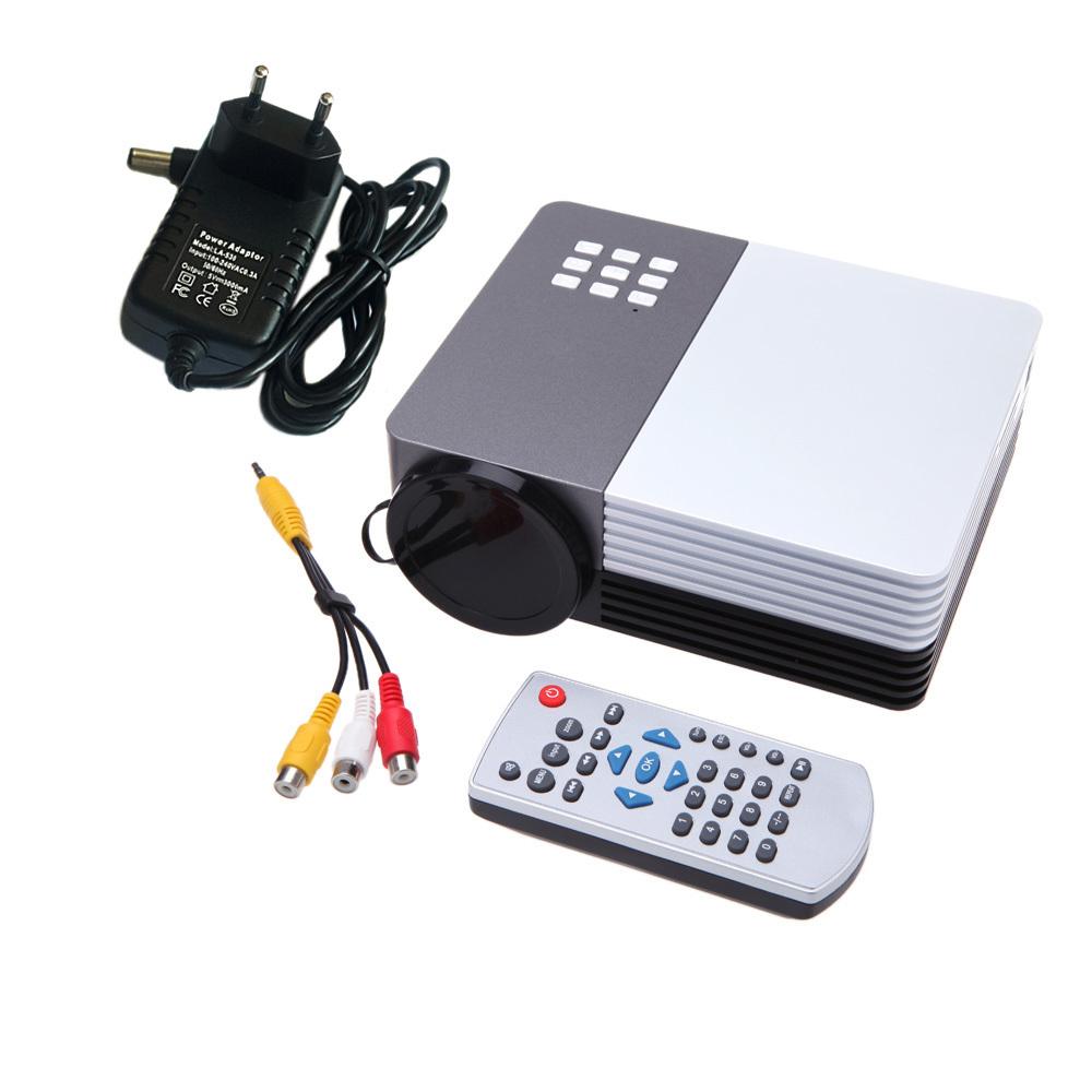 Проектор Other GM50 3D Proyector /vga AV HDMI USB USB SD PC GZ76877 проектор unbrand uc28 av hdmi av vga usb sd