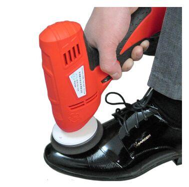 2016 household shoe polisher electric mini hand-held portable Leather Polishing Equipment device automatic clean machine(China (Mainland))
